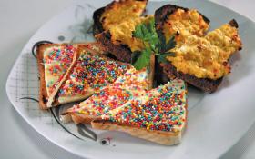 """""""Эльфийский"""" хлеб и острые тосты с сыром"""