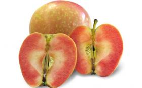 Перлина серед яблук: сорт Pink Pearl з червоною м'якоттю