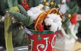 Дух Рождества: праздничные композиции для украшения и подарков