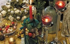 Запаліть святковий настрій! Декоруємо підсвічник для новорічного столу