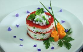 Болгарський перець, запечений з рисом