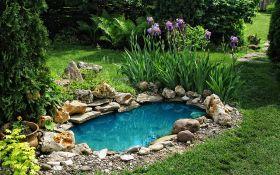 Качественный электронасос для садового фонтана — основа садовой аквасистемы