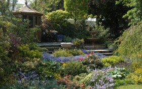 """Рельєфний сад на рівному місці: будуємо квітучі стіни та """"втоплені"""" садки"""