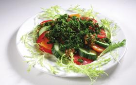 Овощи с зеленью