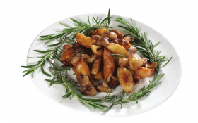 Білі гриби з картоплею