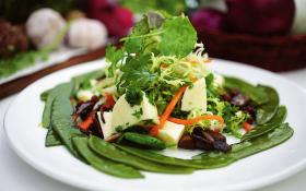 Салат з топінамбура