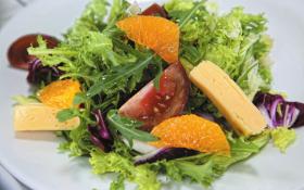 Салат з мандаринами