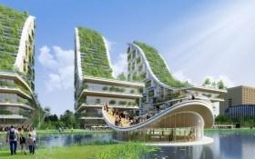 Огороды будущего: дома-теплицы и грядки на воде
