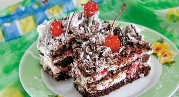 """Торт """"Чорний ліс"""""""
