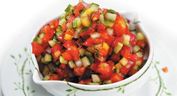 Овочевий салат сальсаго