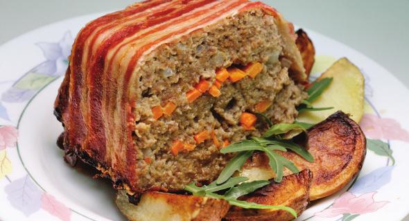 Паштет зі свинини і телятини