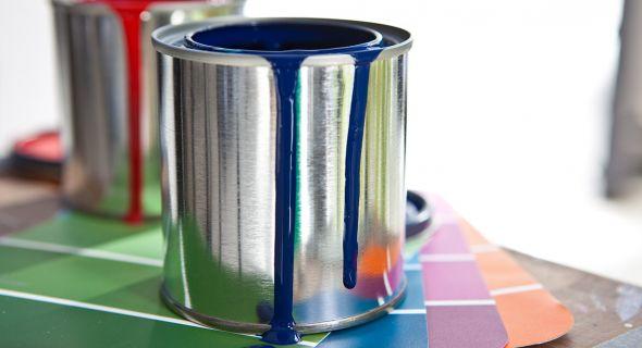 Выбираем краски для интерьера: виды и свойства