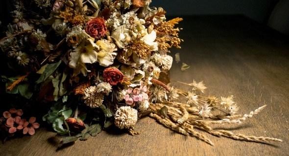 Сохраним очарование лета: композиции из сухих цветов