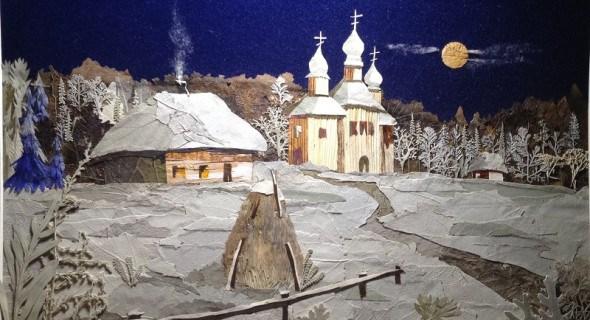 Біла палітра зими: робимо флористичні листівки та картини до свята