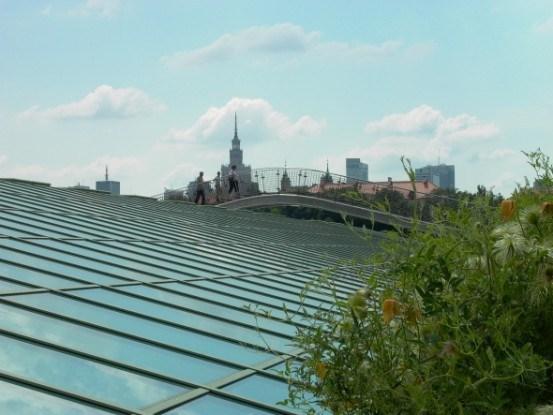 Крыша Варшавской библиотеки