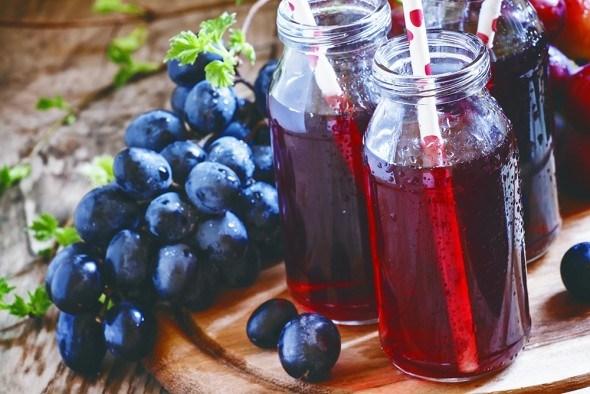 Виноград плоды виноградный сок стол