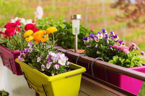 Как создать красивый и практичный цветник на балконе?