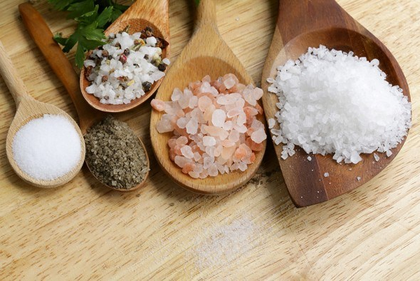 Разные виды соли