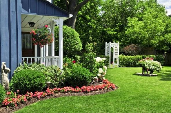 Зеленый газон для престижа и для комфорта: виды, планировка и посев