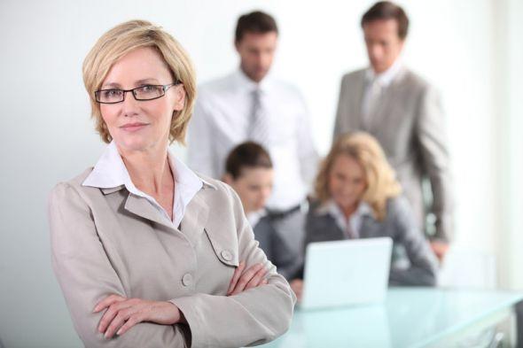 Женщина босс