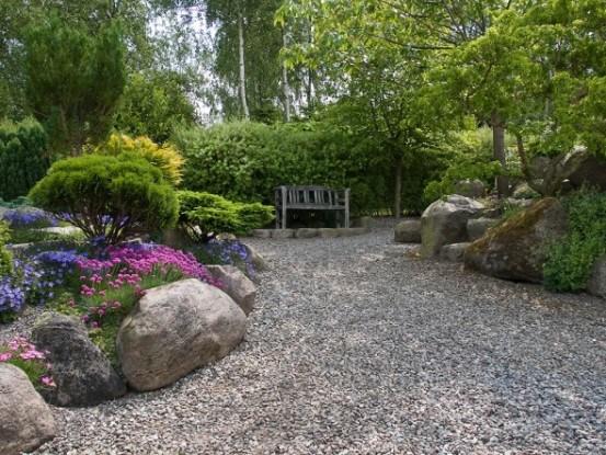 Гравийный сад: технология создания и подбор растений