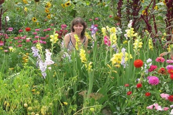 Цветы и овощи, прекрасен их союз!