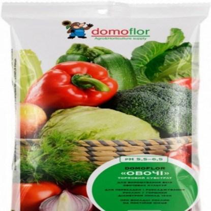 Торф для овочів Домофлор