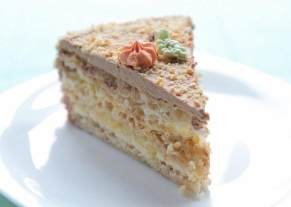 Оригинальный торт «Киевский»