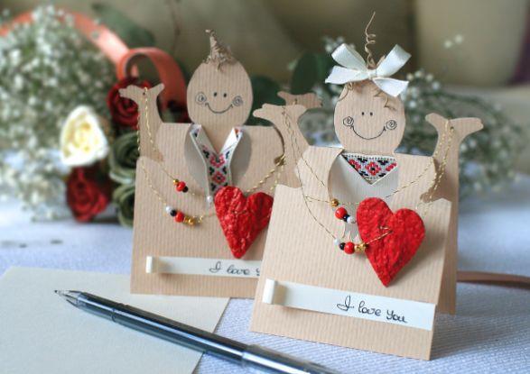 Валентинки для любимых. Делаем сами