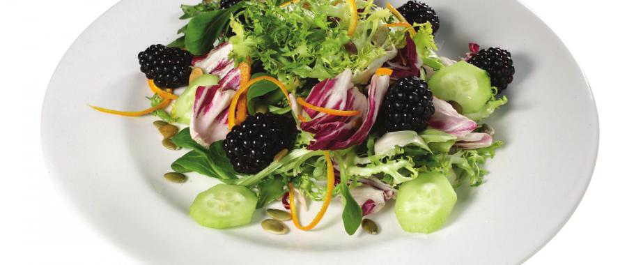Салат з ожиною
