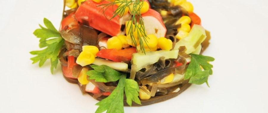 Легкий праздничный салат