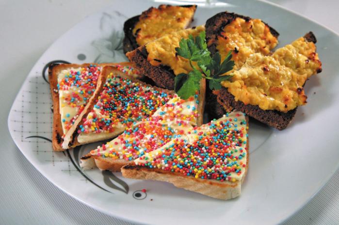 Рецепт тосты для детей