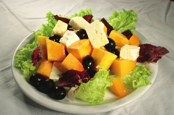 Салат з гарбуза