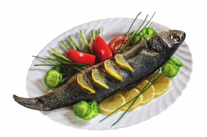 Жареная и запеченная рыба