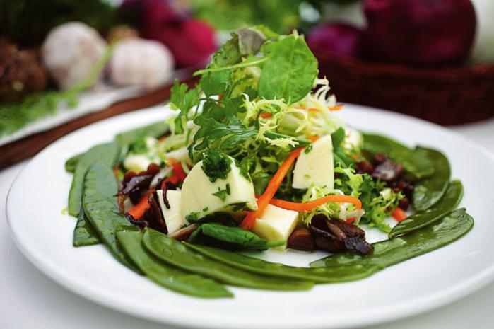Салат з топнамбура