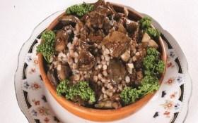 Каша гречневая с грибами
